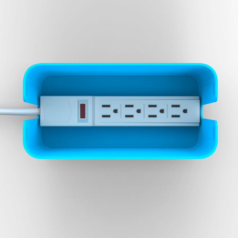 Bluelounge Cablebox Mini Blue - 2