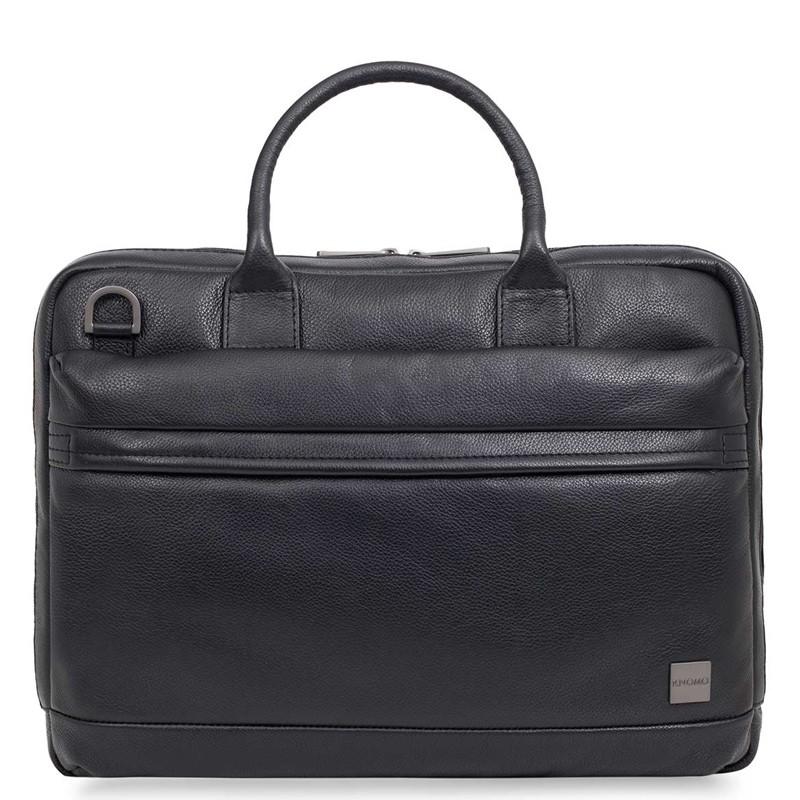 Knomo - Barbican Foster 14 inch Laptoptas Black 02
