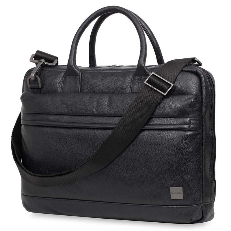 Knomo - Barbican Foster 14 inch Laptoptas Black 01