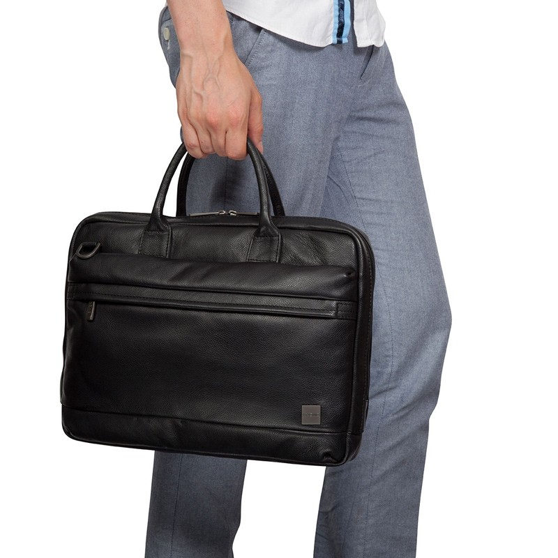 Knomo - Barbican Foster 14 inch Laptoptas Black 08