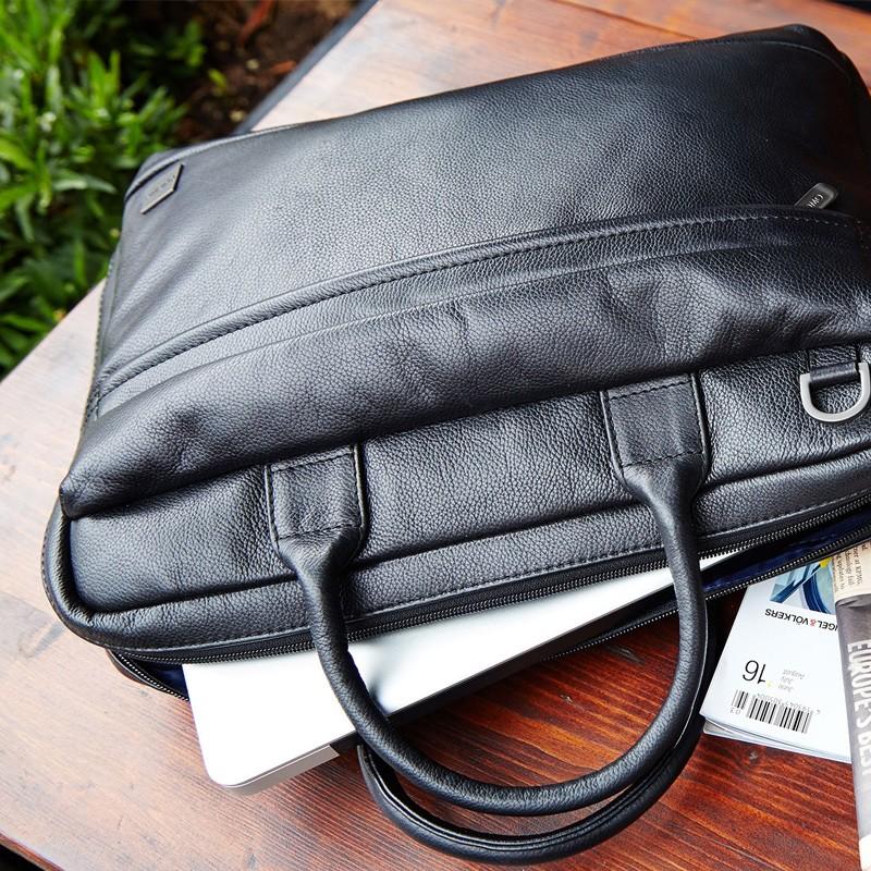 Knomo - Barbican Foster 14 inch Laptoptas Black 09