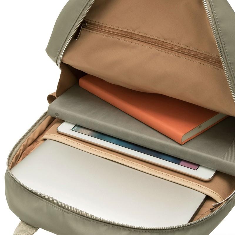 Knomo - Beauchamp 14 inch Laptop Rugzak Olive 04