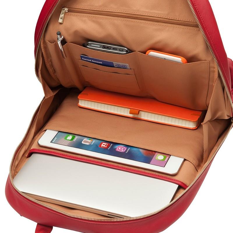 Knomo - Beaux 14 inch Laptop Rugzak Chilli 05