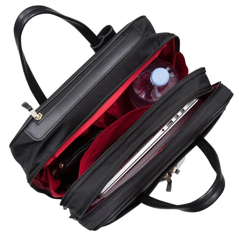 Knomo - Burlington 15 inch Laptop Trolley Black 06