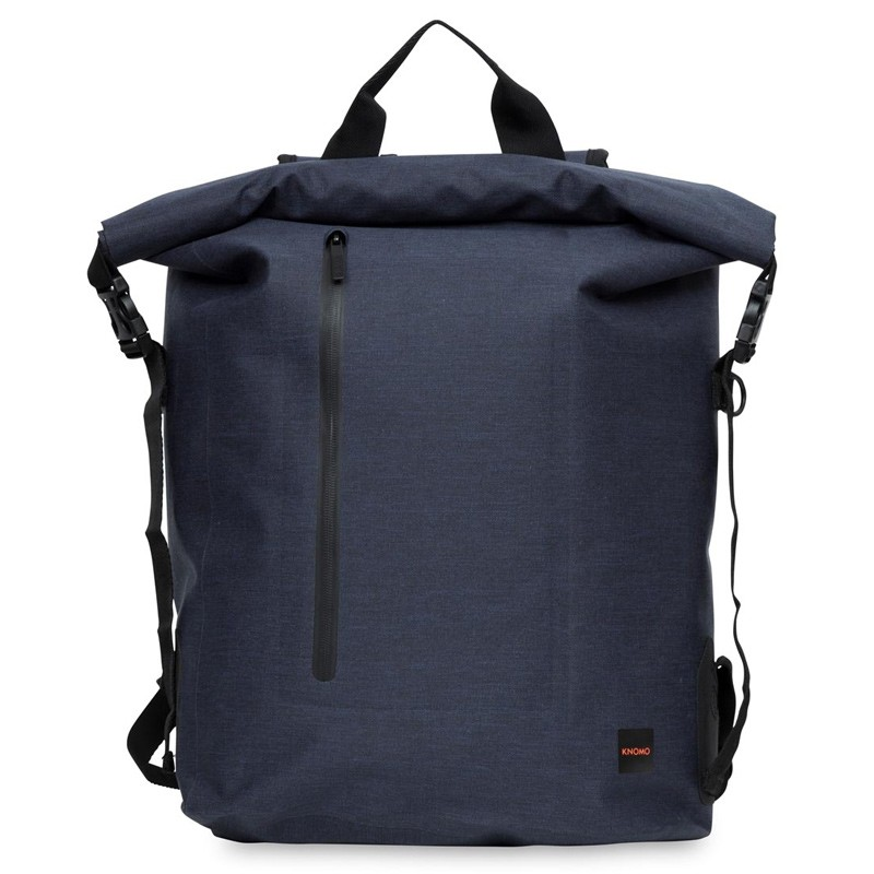 Knomo - Cromwell 15 inch Roll Top RugzakBlue  02