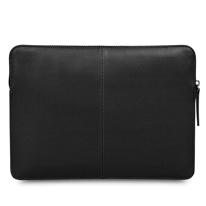 Knomo - Embossed Laptop Sleeve 12 inch Black 05
