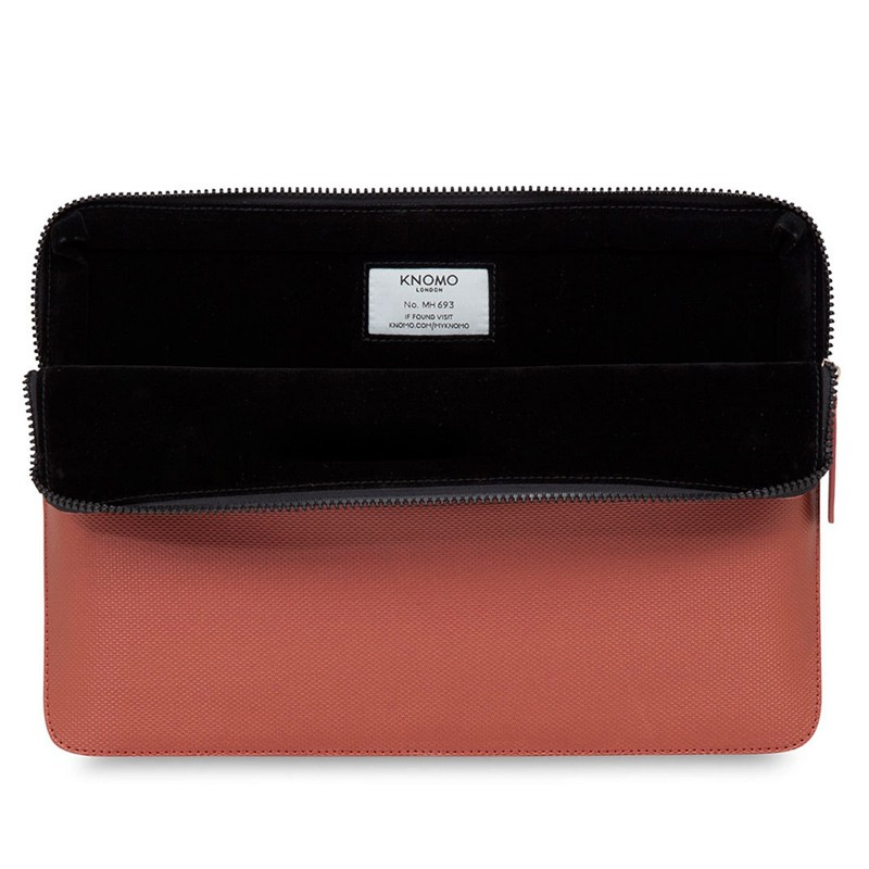 Knomo - Embossed Laptop Sleeve 13 inch Copper 04