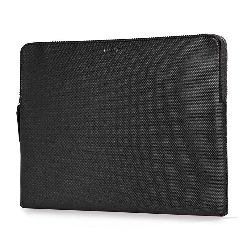 Knomo - Embossed Laptop Sleeve 15 inch MacBook Pro Black 02