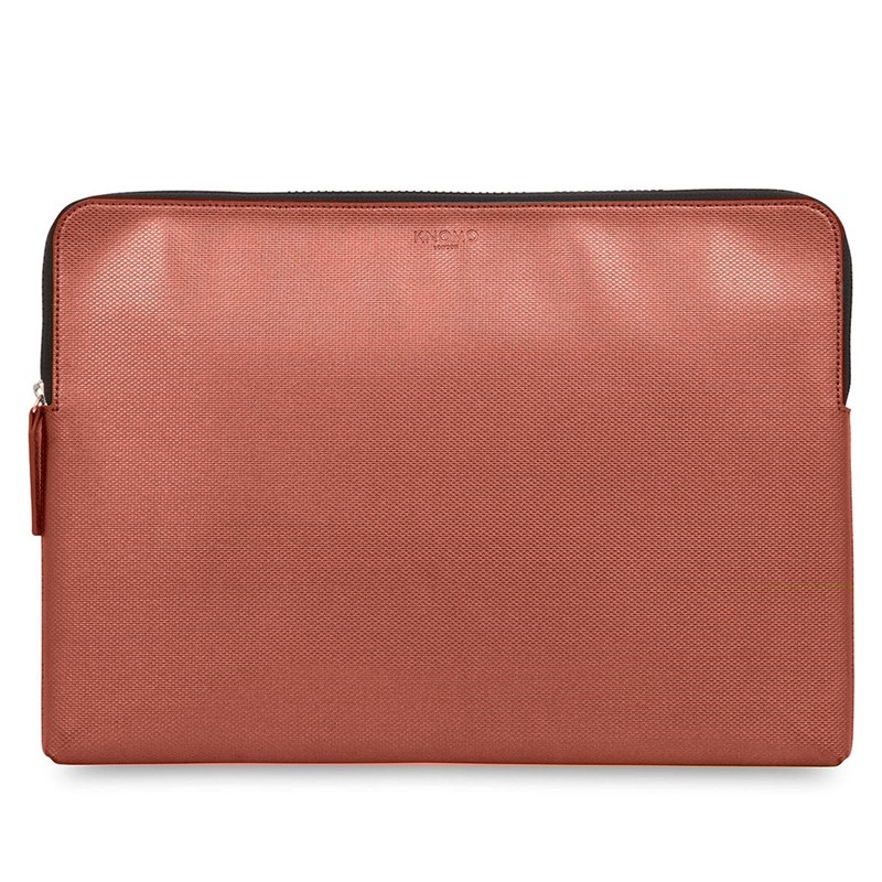 Knomo - Embossed Laptop Sleeve 15 inch MacBook Pro Copper 01