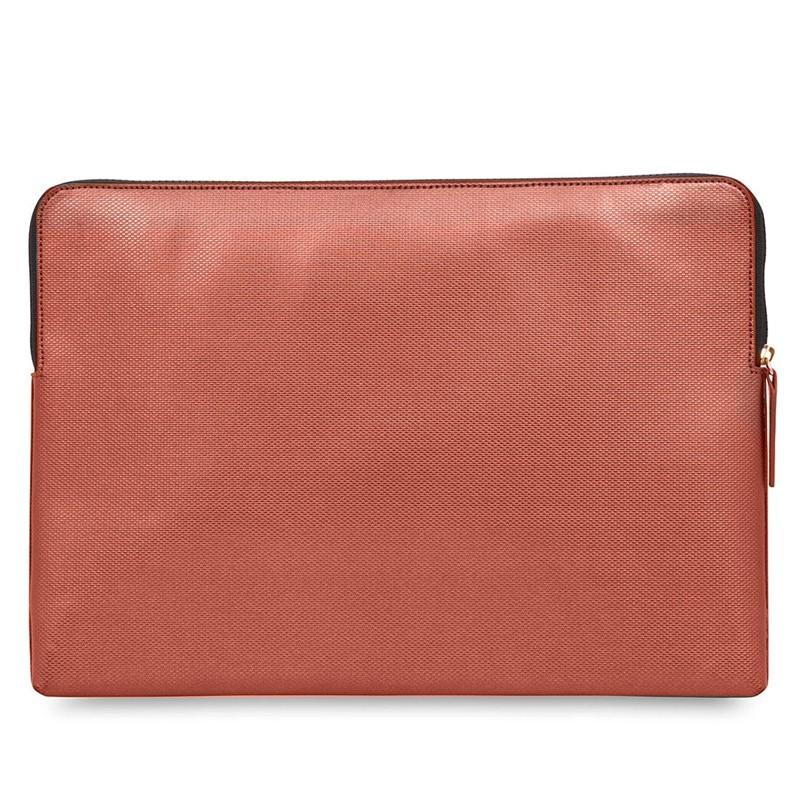 Knomo - Embossed Laptop Sleeve 15 inch MacBook Pro Copper 06