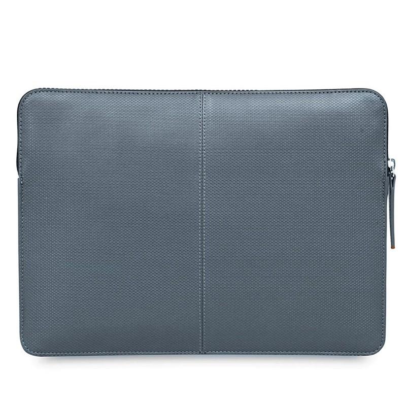 Knomo - Embossed Laptop Sleeve 15 inch MacBook Pro Silver 05