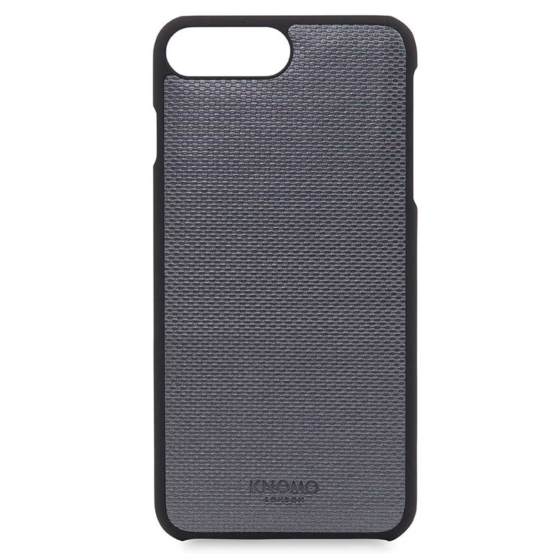 Knomo - Leather Snap On Hoes iPhone 7/6S/6 Plus Silver 05