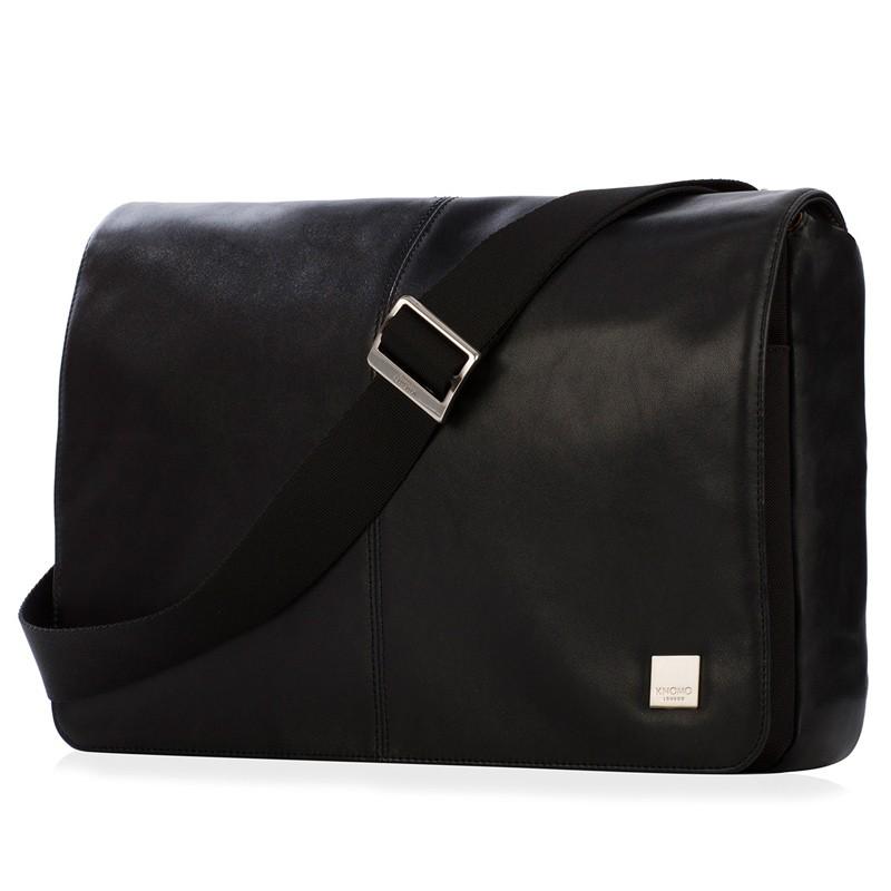 Knomo - Kinsale 13 inch Laptop Messenger Black 02