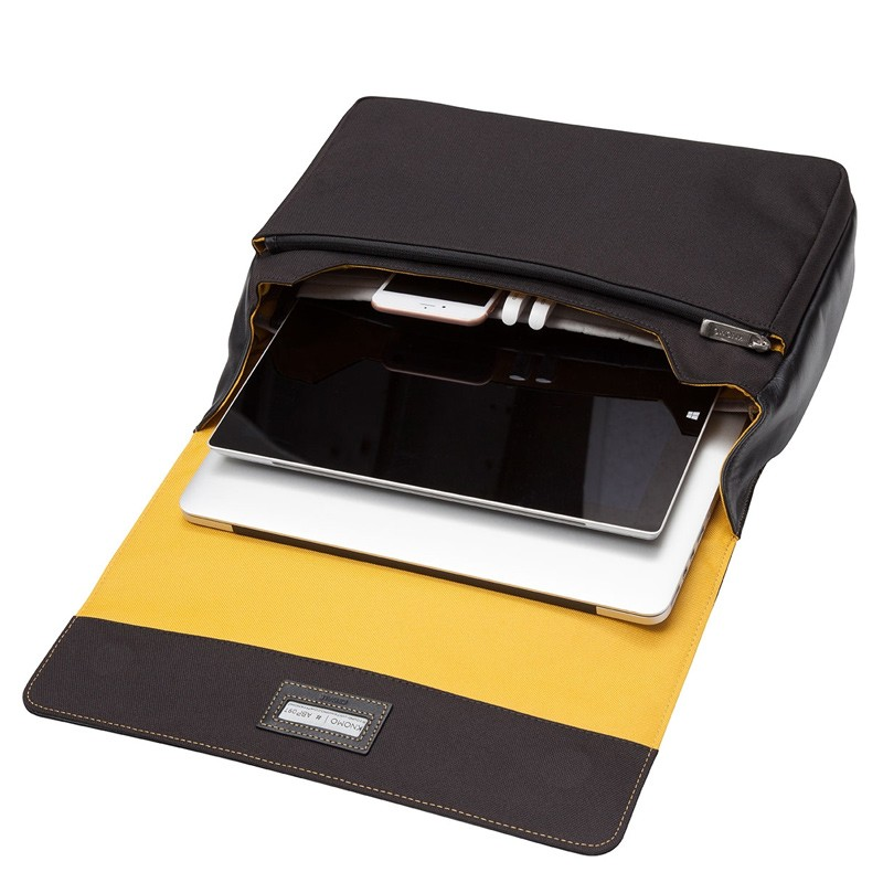 Knomo - Kinsale 13 inch Laptop Messenger Black 03