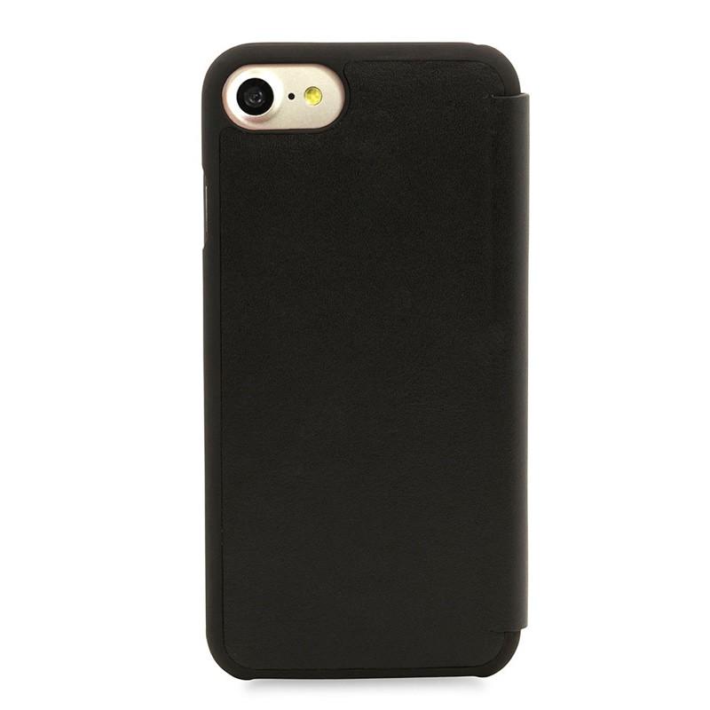Knomo Leather Folio iPhone 7 Black 03
