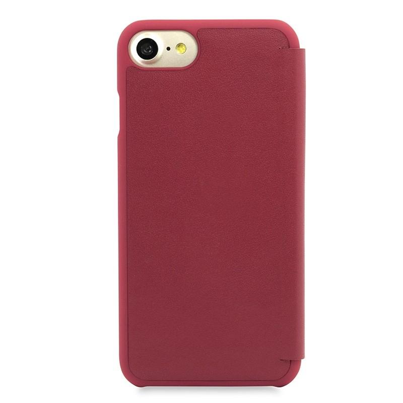Knomo Leather Folio iPhone 7 Chili 03