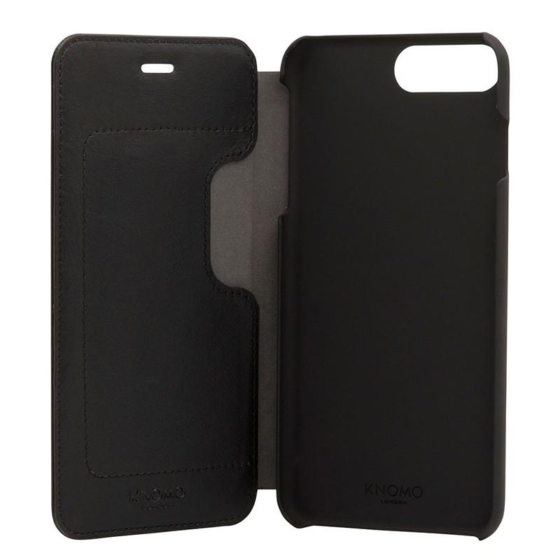 Knomo Leather Folio iPhone 7 Plus Black 05