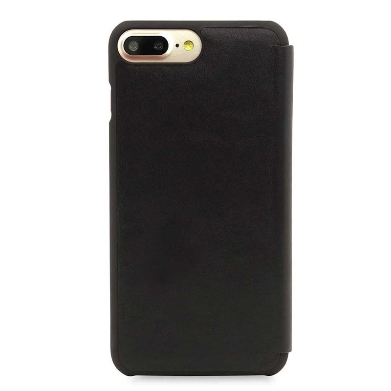 Knomo Leather Folio iPhone 7 Plus Black 03