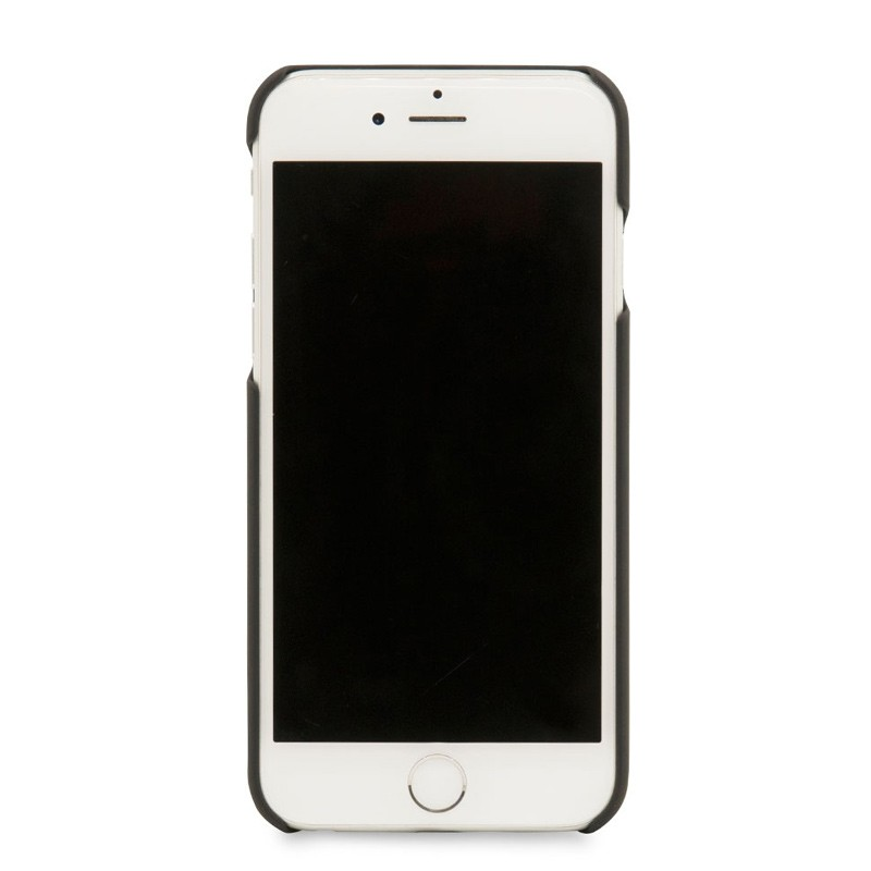 Knomo Leather Snap On Hoes iPhone 7 Black 04