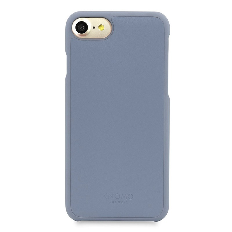 Knomo Leather Snap On Hoes iPhone 7 Lido Purple 02