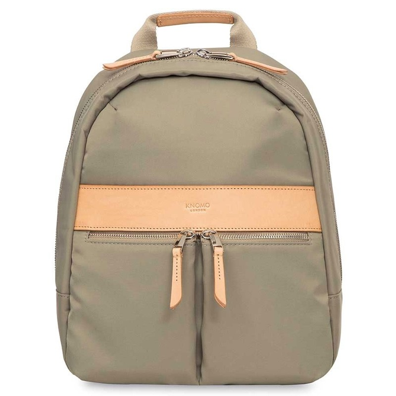 Knomo - Mini Beauchamp 10 inch Tablet Rugzak Olive 01