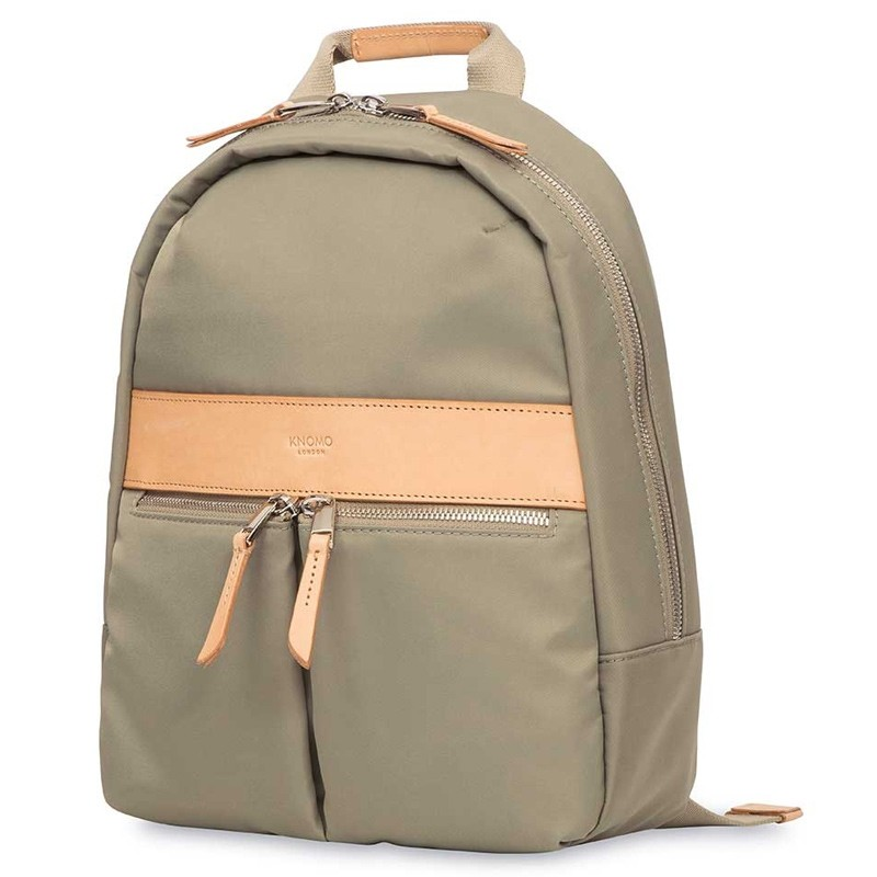 Knomo - Mini Beauchamp 10 inch Tablet Rugzak Olive 06