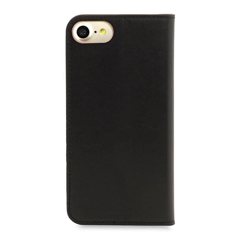 Knomo Premium Leather Folio iPhone 7 Black 02