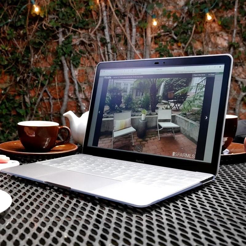 Moshi iGlaze Macbook 12 inch Clear - 7