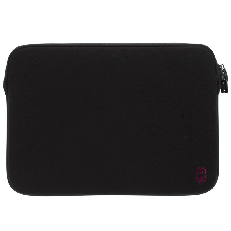 MW - MacBook Pro 13 inch 2016 Sleeve Black/Cherry 01