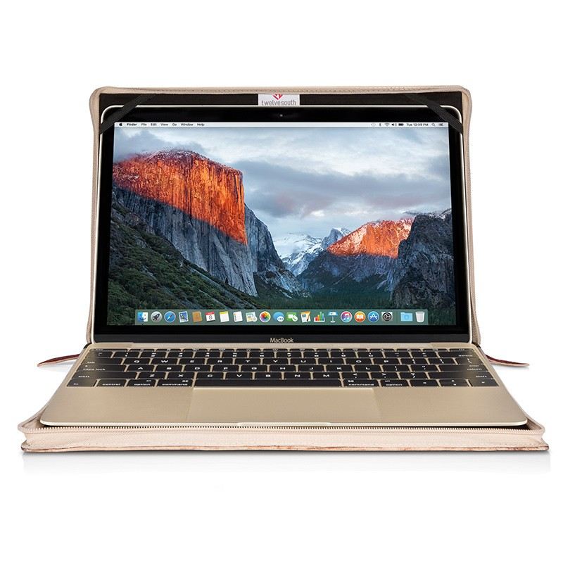 Twelve South - BookBook voor Apple Macbook 12 inch Rutledge 02