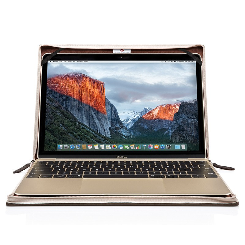 Twelve South - BookBook voor Apple Macbook 12 inch Brown 02