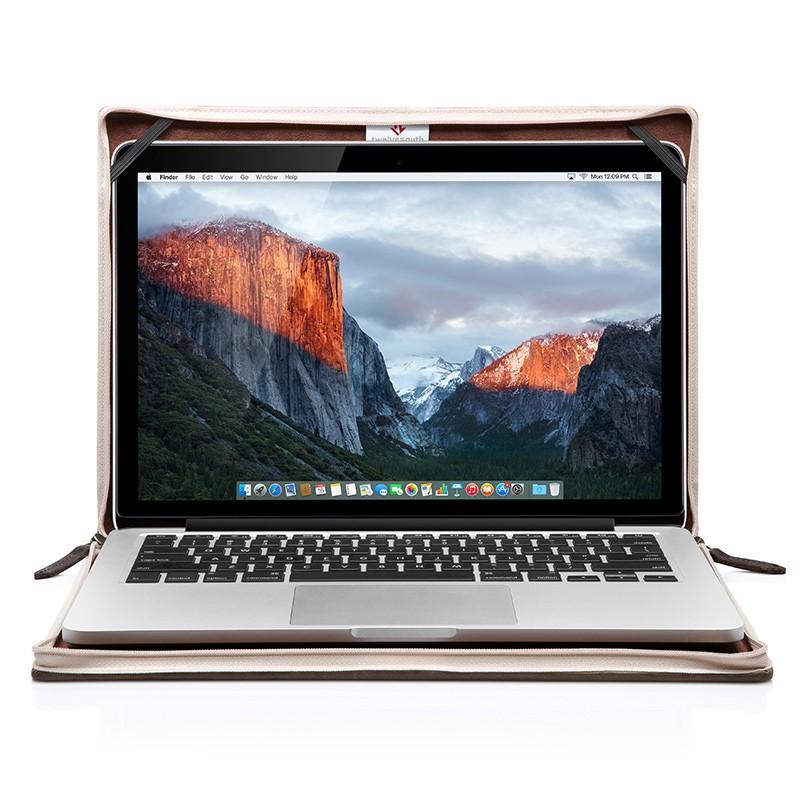 Twelve South - BookBook voor Apple Macbook Pro 13 inch Brown 02