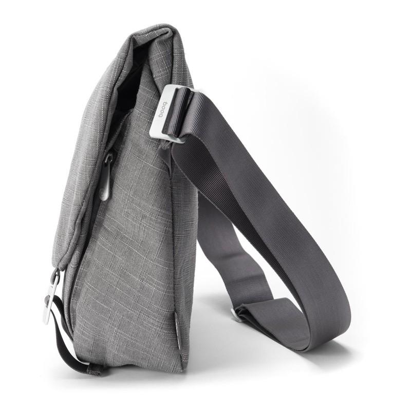 Booq - Shadow 15 inch Laptop Messenger Grey Fiber 03