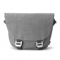 Booq - Shadow 15 inch Laptop Messenger Grey Fiber 01