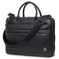 Knomo - Barbican Foster 14 inch Laptoptas Black 01