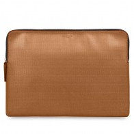Knomo - Embossed Laptop Sleeve 15 inch MacBook Pro Bronze 01