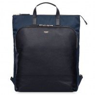 Knomo - Harewood Tote 15 inch Laptop Rugzak Navy 01
