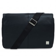 Knomo - Kinsale 13 inch Laptop Messenger Black 01
