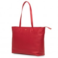 Knomo - Maddox 15 inch Zip Top Laptoptas Red 01