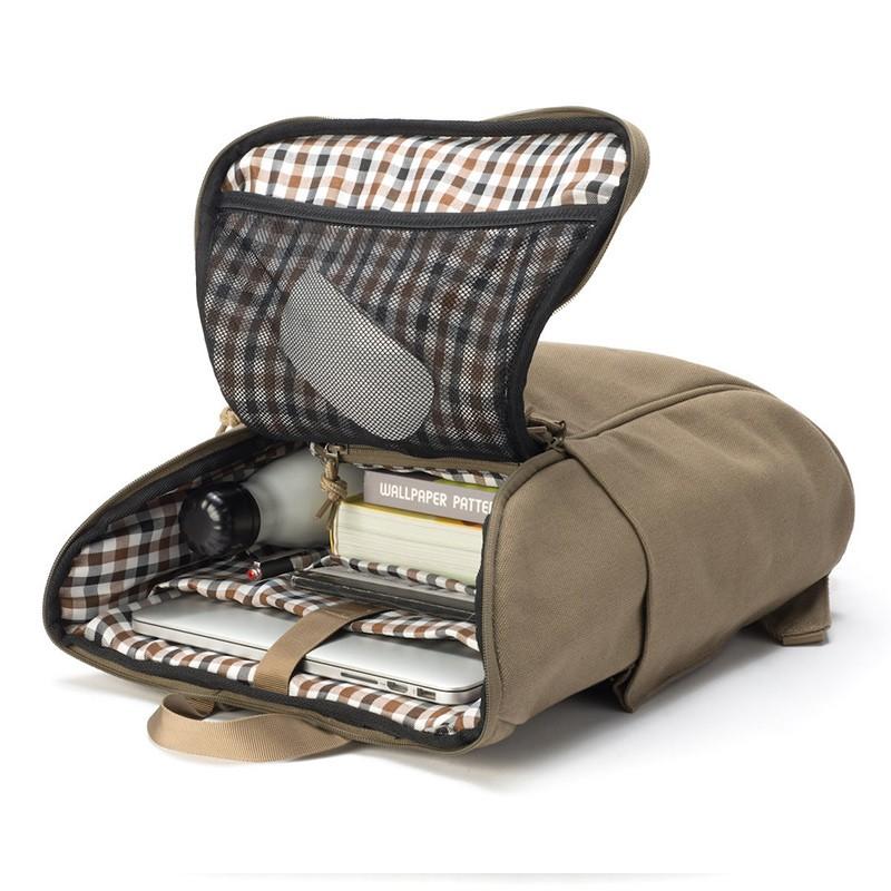 Booq Daypack 15,6 inch Laptop Rugzak Clay-Canvas 06