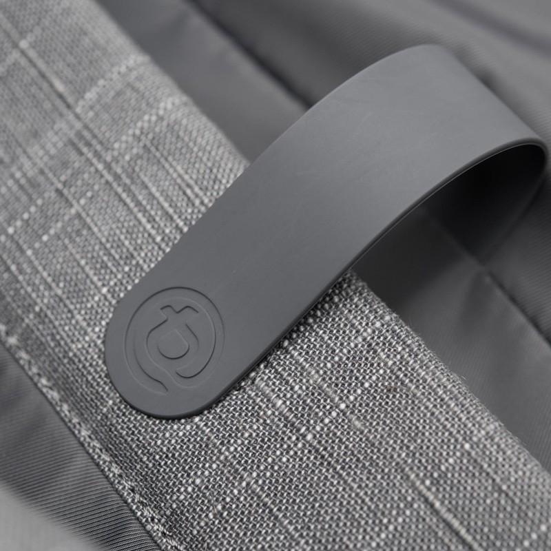 Booq - Shadow 15 inch Laptop Messenger Grey Fiber 09