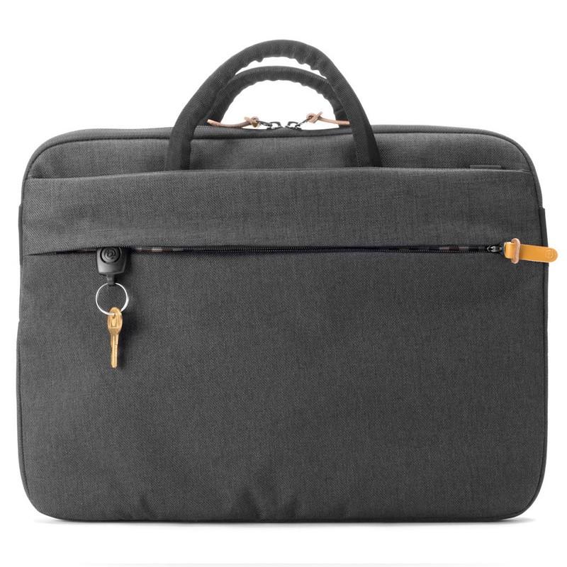 Booq - Superslim 13 inch Laptoptas Black Tan 07