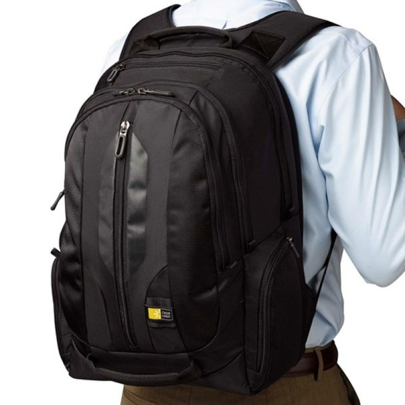 "Case Logic RBP-217 17,3"" Laptoprugzak Black - 8"