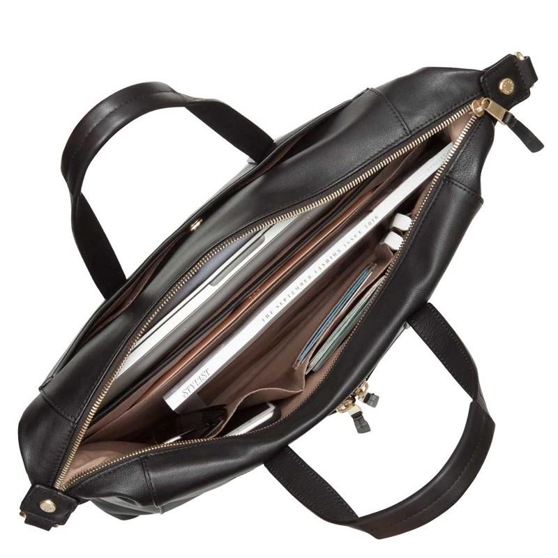 Knomo - Audley 14 inch Slim Laptoptas Black 03