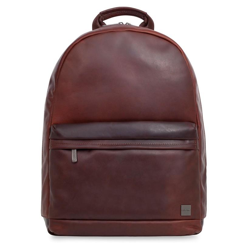 Knomo - Barbican Albion 15 inch Laptop Rugzak Brown 01