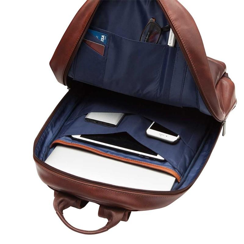 Knomo - Barbican Albion 15 inch Laptop Rugzak Black 06