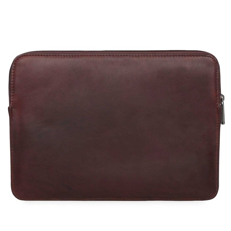 Knomo - Barbican Sleeve 15 inch Brown 06
