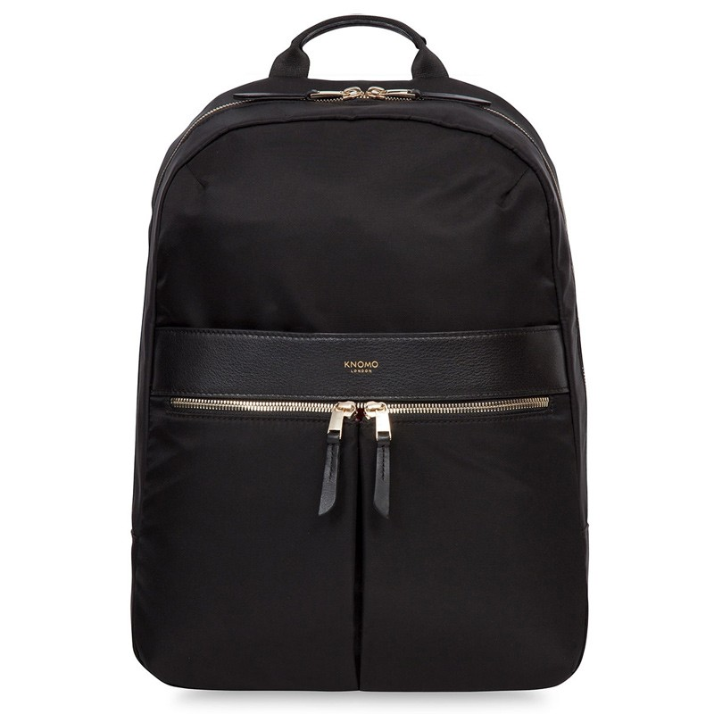 Knomo - Beauchamp 14 inch Laptop Rugzak Black 01