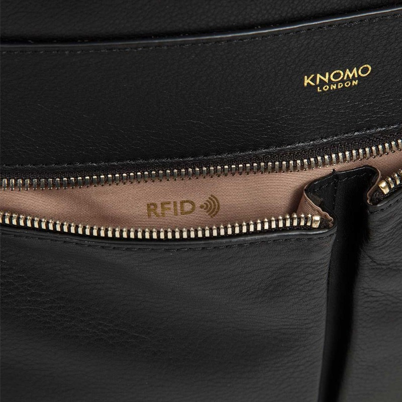 Knomo - Beaux 14 inch Laptop Rugzak Black 07