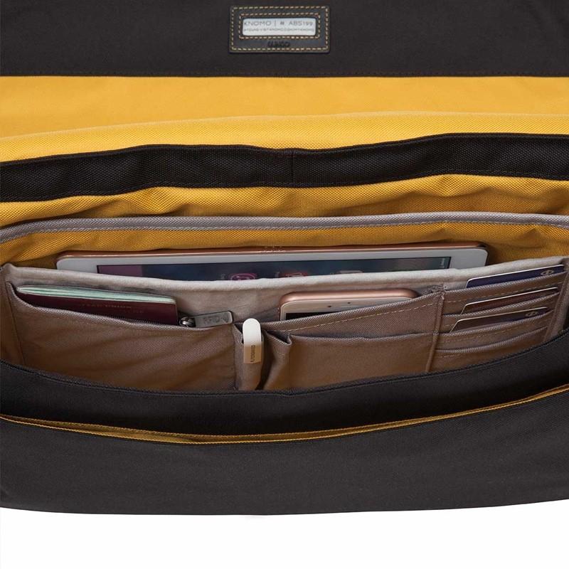 Knomo - Bungo 15,6 inch Laptop Messenger Black 09